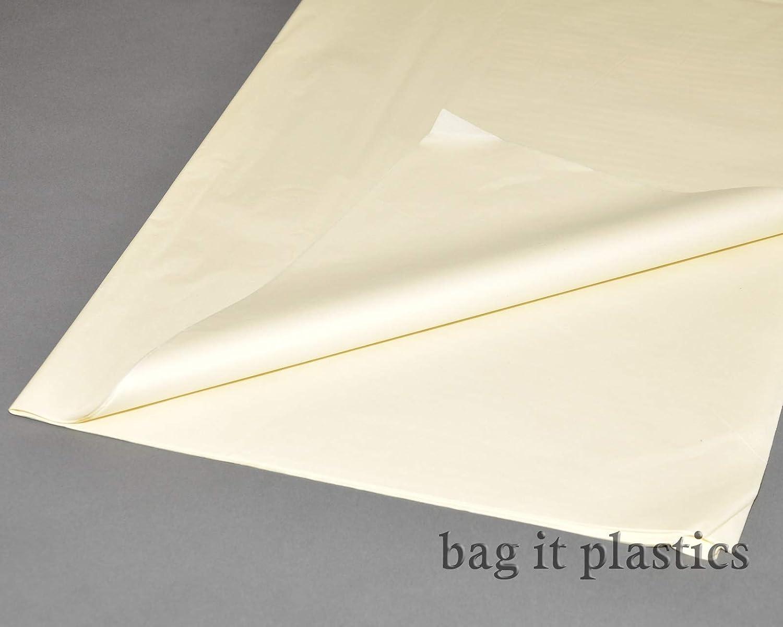 Carta velina colorata senza acidi, 51 cm x 76 cm, 100 fogli Yellow ODL Packaging