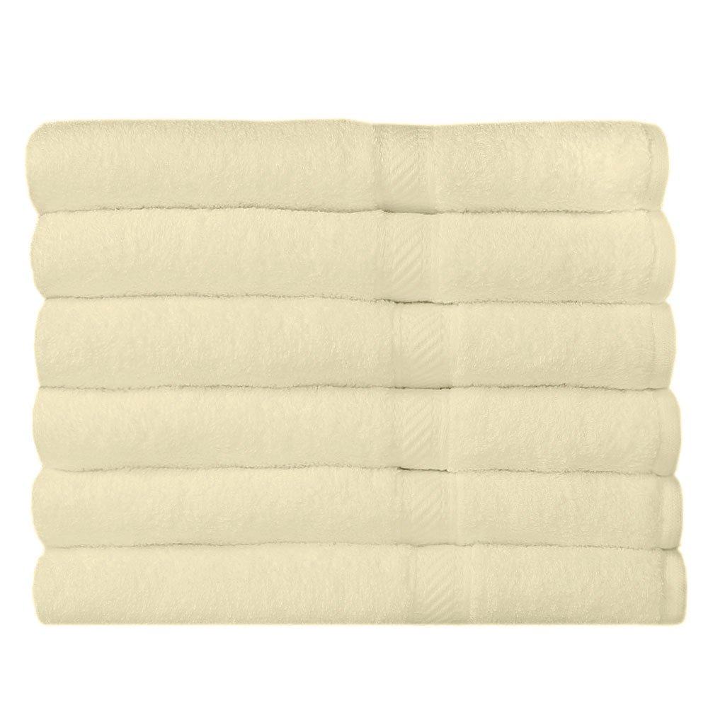 Juego de 6 toallas de ba/ño Westward Ho 70 x 120 cm, algod/ón color azul 390GSM