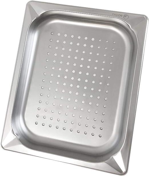 : gelocht Greyfish GN-Behälter Edelstahl // Gastronorm 1//2, 65 mm