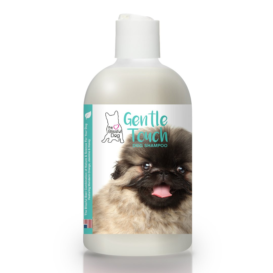 The Blissful Dog Gentle Touch Dog Shampoo All Natural Hypoallergenic Shampoo, 16-Ounce
