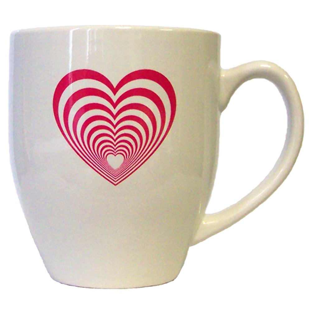 Inspirational Motivation Gift Item 16 Ounce Ceramic Quote Coffee Mug heart All we have is love