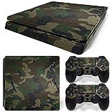 CSBC Skins Sony PS4 Slim Design Foils Faceplate Set - Camouflage 3 Design