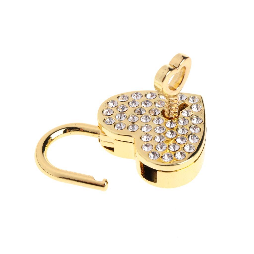Mentin Serrure /à Cl/é de Cadenas DArchaize de Style Antique Vintage de Vieux Diamants avec la Cl/é Argent