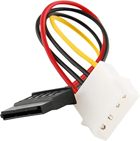 6iN IDE//Molex//IP4//4-pin to SATA Power 15-pin Connector Converter Adapter Cable
