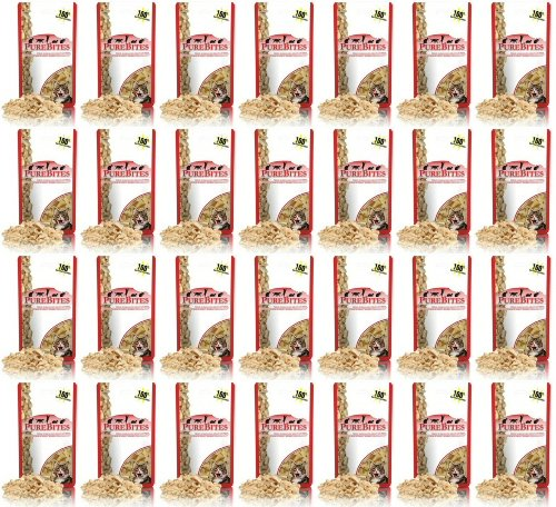 PureBites Freeze Dried Chicken Breast for Cats 1.9Lbs (28 x 1.09oz)