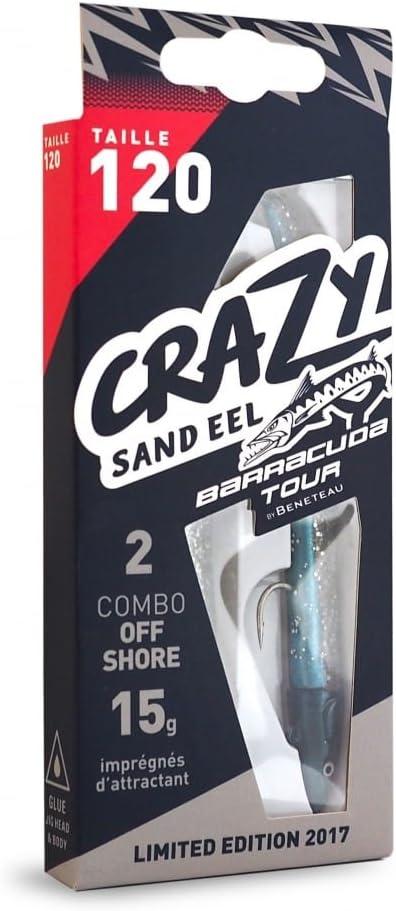 Crazy Sand Eel Fiiish Lures 120 Doble Combo Barracuda Tour ...