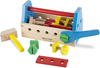 Melissa & Doug 24-Pcs. Wooden Construction Toy