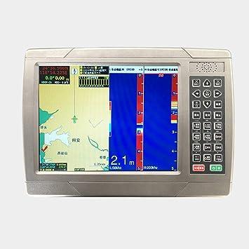 JSANSUI Plotter Gráfico Navigator Marina Plotter 10,4 Pulgadas Tres-en-uno botón navegador por satélite Toque asistida gráfico de Pantalla Plotter: Amazon.es: Hogar