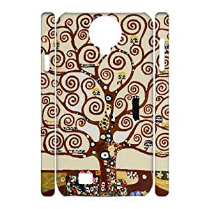 D-PAFD Cell phone Cases Tree of Life Hard 3D Case For Samsung Galaxy S4 i9500