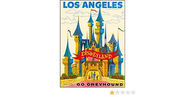 Amazon com: Los Angeles Disneyland Go Greyhound Sleeping