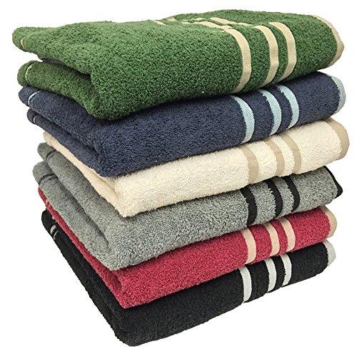 """Ruthy's Textile 3-pack 27"""" X 50"""" 100% Cotton Bath Towels"""