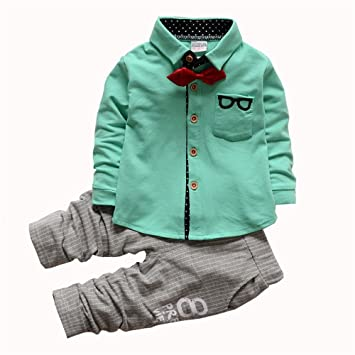 c90c5561e Buy Bibicola Kids Outfits Spring Autumn Baby Boys Clothing Sets Online at  Low Prices in India - Amazon.in