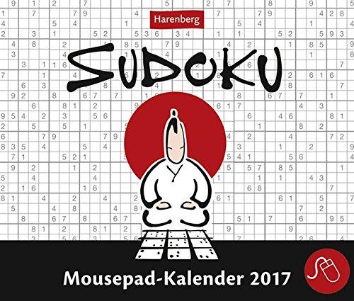 Sudoku - Kalender 2017: Mousepad-Kalender