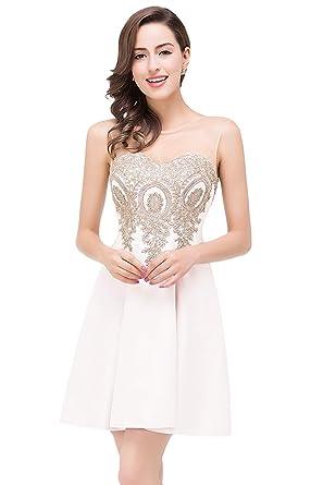 tienda de descuento nueva colección excepcional gama de colores Battercake Señoras Apliques Largos Sin Brazo Vestidos De ...
