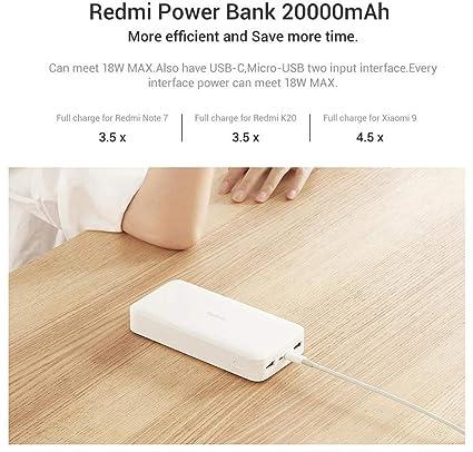 Xiaomi Redmi Power Bank 20000 Mah 18w Fast Charge Elektronik