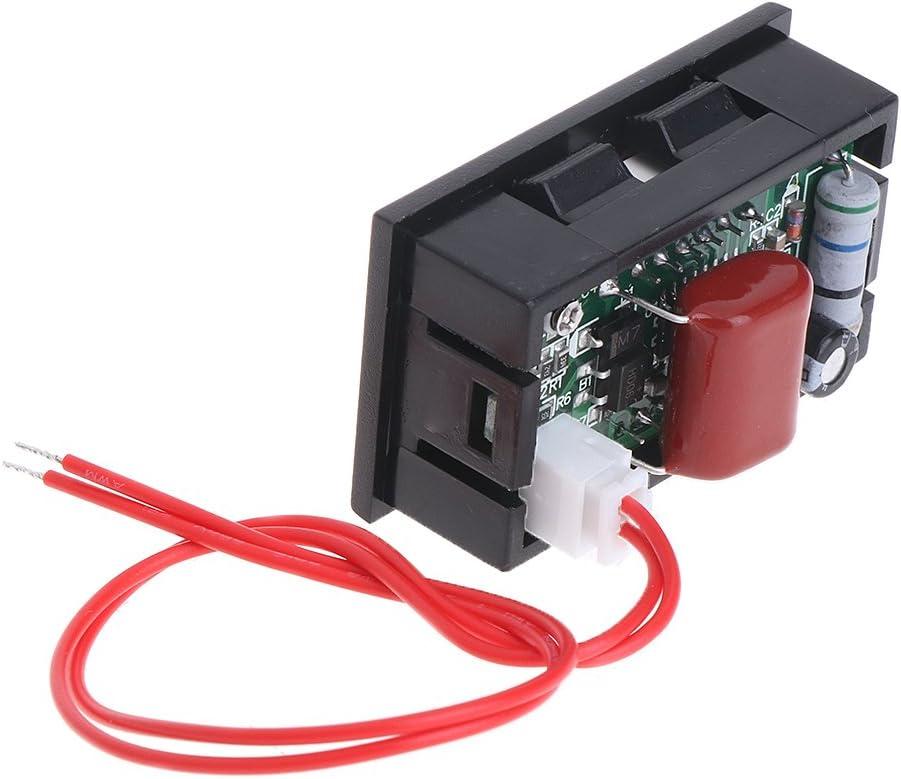 2 Draht 0,56AC 30 V-500 V LED Digital Voltmeter Spannungsmesser Monitor Tester F/ür 110 V 220 V 380 V