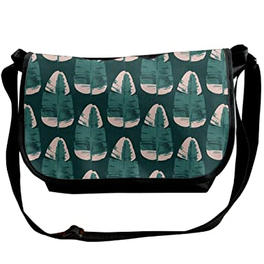 bec73f4890 Amazon.com  Conventional Leaves Crossbody Bags Purse For Women Travel Bag  Sling Pouch  Clothing