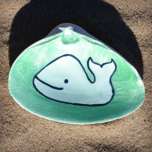 Whale-Clam-Shell-Dish-Spoon-Rest-Soap-Dish-Jewelry-Holder-Catch-all-Cranberry-Collective