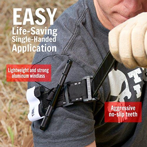 Tourniquet-Black-Recon-Medical-Gen-3-Mil-Spec-Kevlar-Metal-Windlass-Aluminum-First-Aid-Tactical-Swat-Medic-Pre-Hospital-Life-Saving-Hemorrhage-Control-Registration-Card-2-Pack