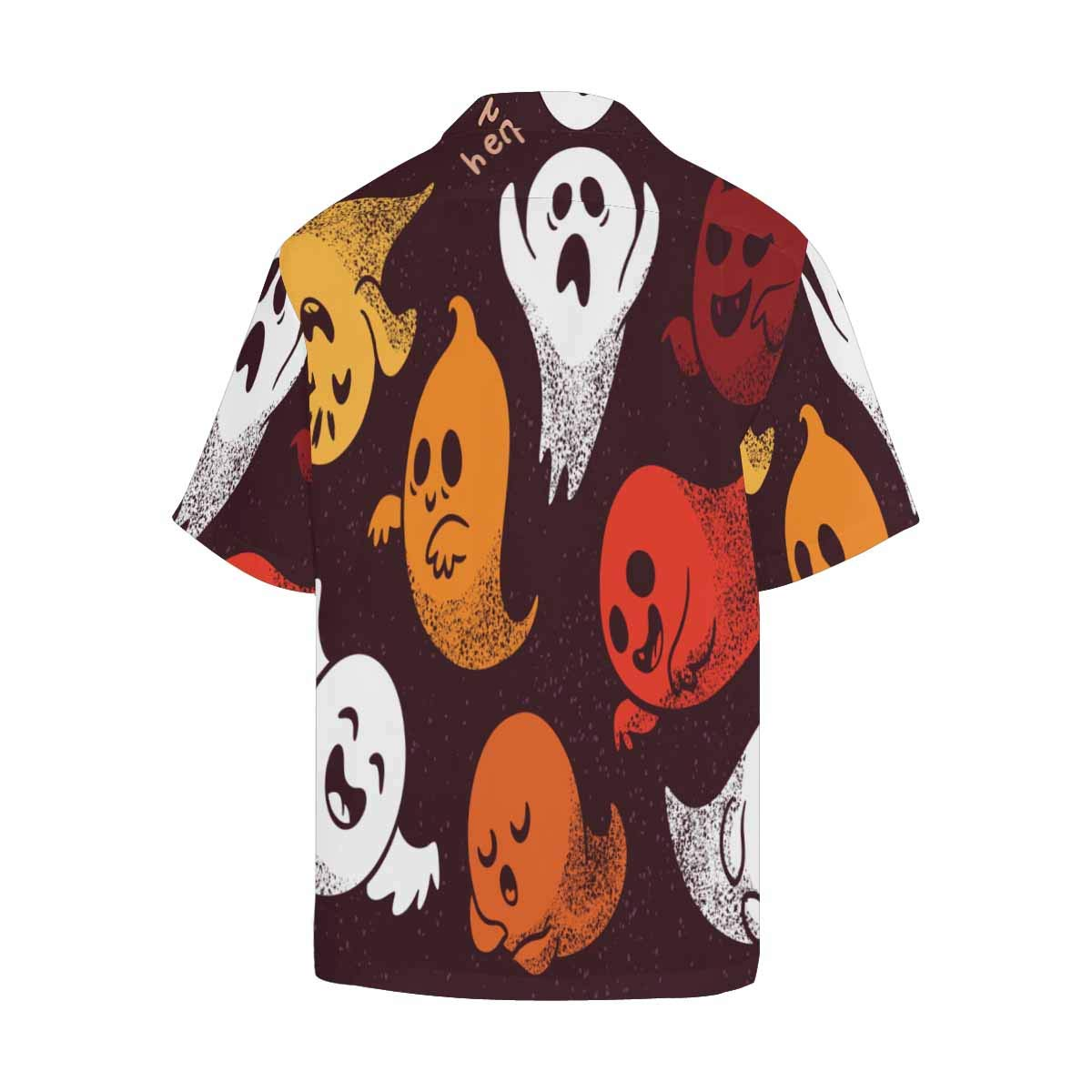 InterestPrint Loose Summer Halloween Pumpkins Black Printed Funny Casual T Shirt