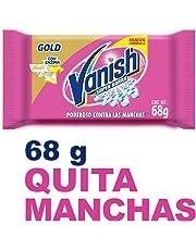 Vanish Jabón Quitamanchas en Barra, color Rosa, 68 g,