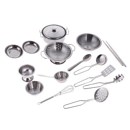 Buy Segolike Children Kids Pretend Toys Kitchen Cookware Set ...