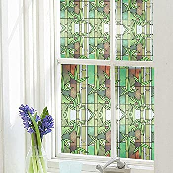 Amazoncom Bloss Privacy Window Film Stained Glass Artscape - Stained glass window stickers amazon