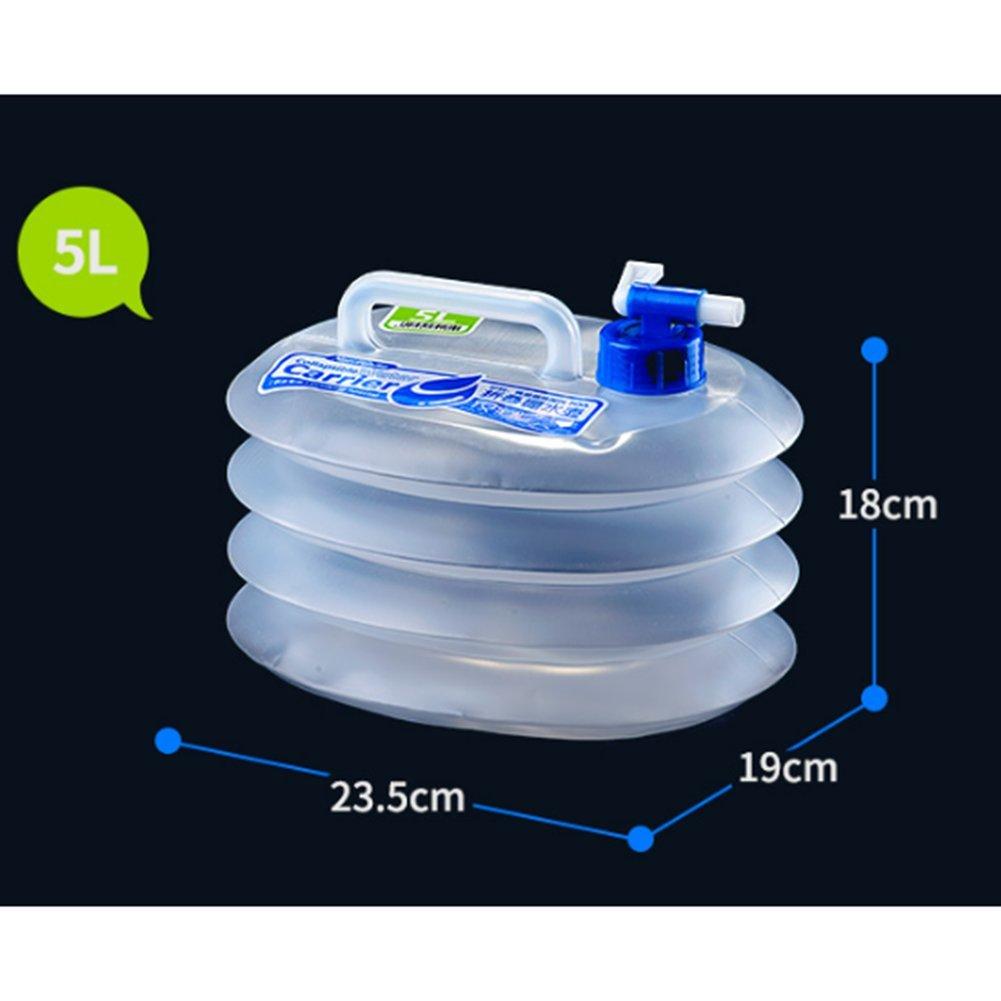 Faltbar Wasser Behälter BPA frei Kunststoff Camping Radfahren Wandern Water Carrier