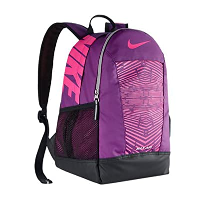 Nike New Young Athletes  Max Air Team Training SM Backpack Bold Berry Black  48652e912b9d0