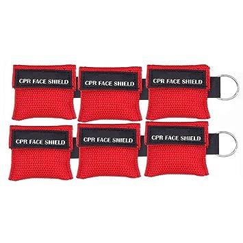 Nuluxi CPR Primeros Auxilios Máscara Primeros Auxilios ...