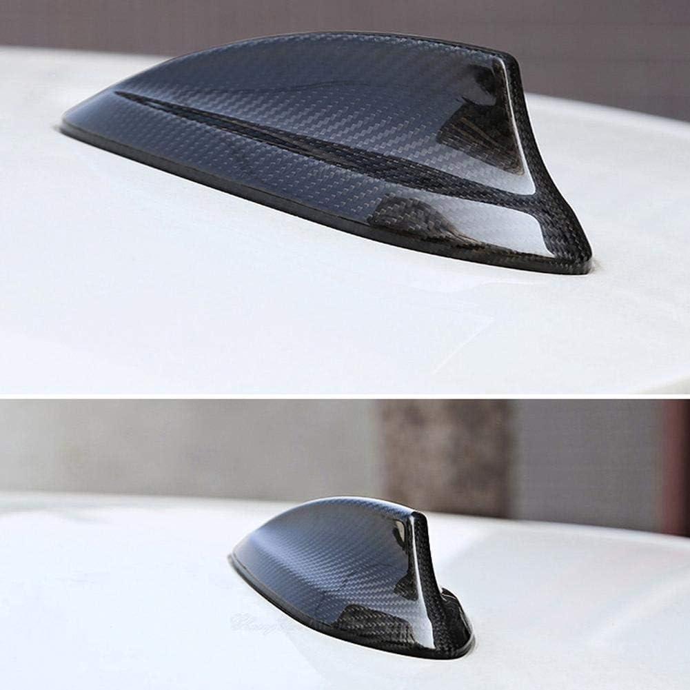 Cubierta de Antena Delaman Car Fibra de Carbono Antena Cubierta de Aleta de Tibur/ón Recorte Compatible con BMW F22 F30 F35 F34 F32 F33 F80