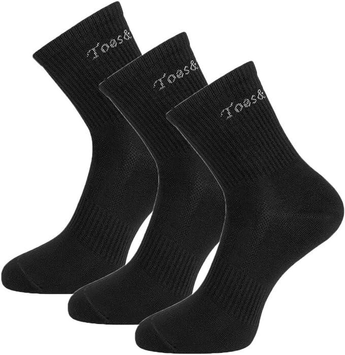 Toes&Feet Men's Anti-Odor Athletic and Dress Socks