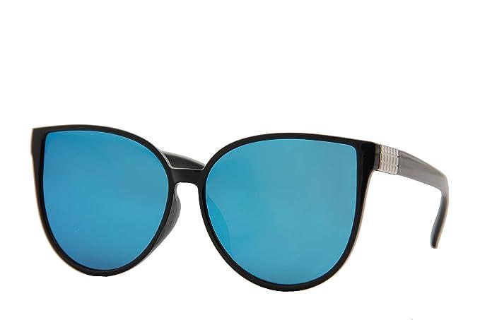 Amazon.com: IVOZZO - Gafas de sol modernas con efecto espejo ...
