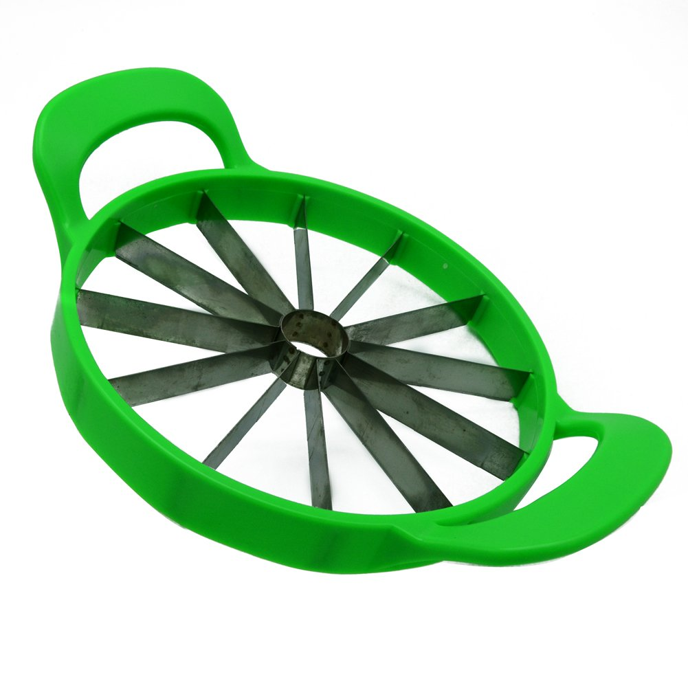 Fruit Watermelon Cantaloupe Cutter Slicer for Cutting Ball Shape Fruit and Vegetable Stainless Steel Kitchen Tool EwiMart