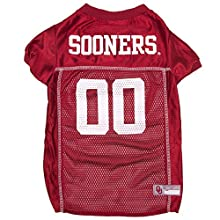 NCAA OKLAHOMA SOONERS DOG Jersey, X-Small