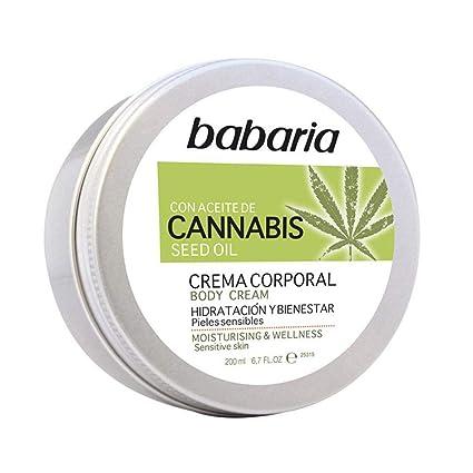 babaria Cannabis Körpercreme 200 ml