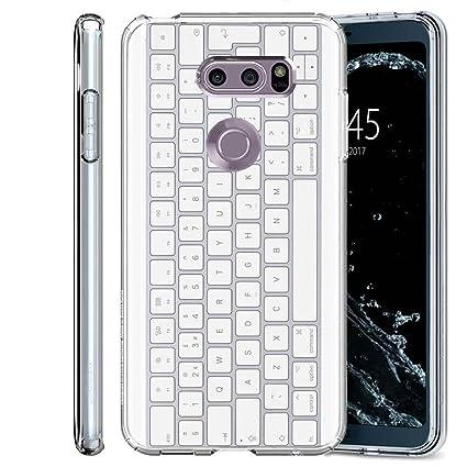 Amazon.com: [Tech funda] LG V30/V30 Plus/V30 + (transparente ...