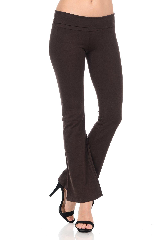 Fashion Aktiv PANTS レディース B076PQQYGW Small|ブラウン ブラウン Small