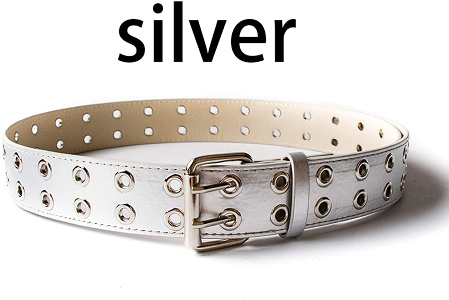 Vintage Rivet Luxury Punk Belts Men Male Rock Motorcycle PU Leather Women Waist Strap For Jeans