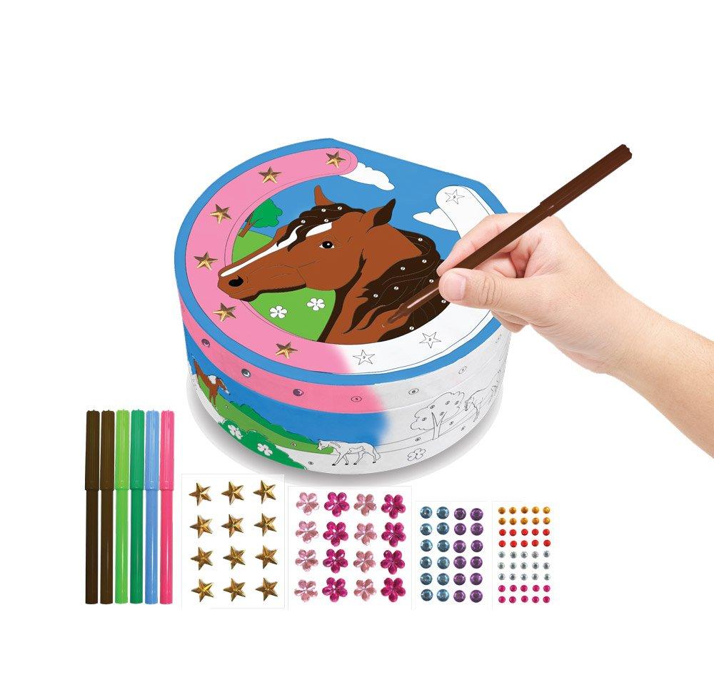 Breyer Horse Crazy Color & Decorate Treasure Box Doll by Breyer   B01B5DDAGG