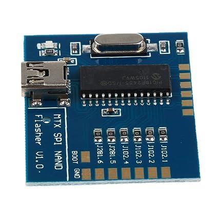 SLB Works Matrix NAND Programmer MTX SPI Flasher V1 0: Amazon in