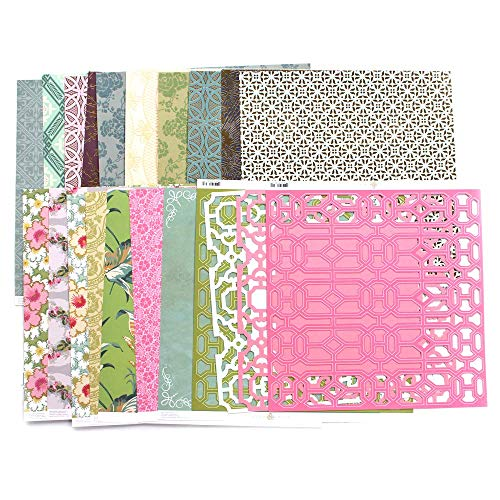 Anna Griffin 12x12 Papers Value Bundle Anna Griffin Die Cut