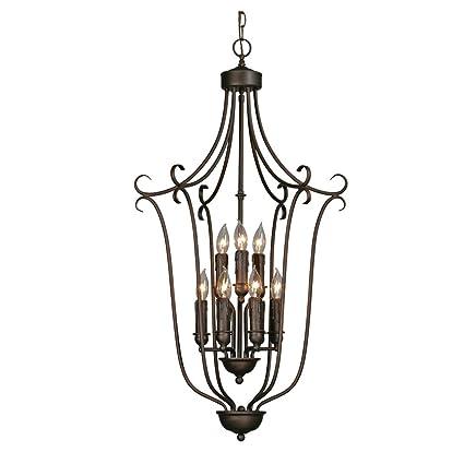 golden lighting fixtures golden lighting 64279 rbz multifamily caged foyer rubbed bronze finish