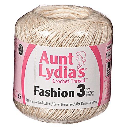 Aunt Lydia/'s Fashion Crochet Thread Size 3-warm Rose