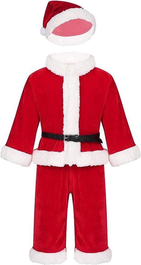 inlzdz Disfraz de Papá Noel para Bebe Niña Nino Costume Cosplay de ...