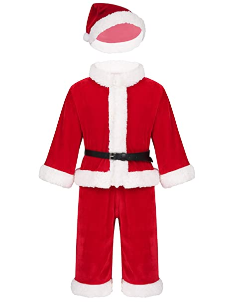 inlzdz Disfraz de Papá Noel para Bebe Niña Nino Costume ...