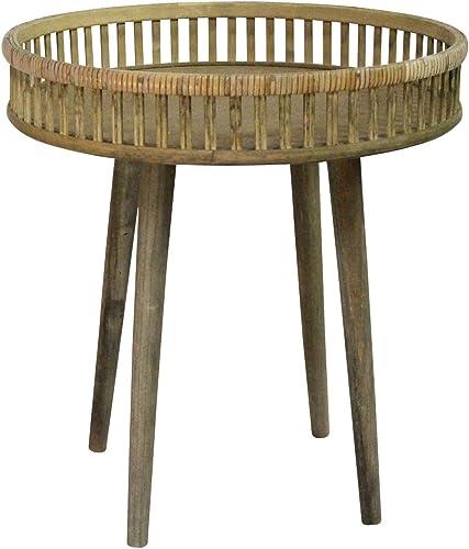 Stratton Home D cor Stratton Home Decor Rattan Side Table