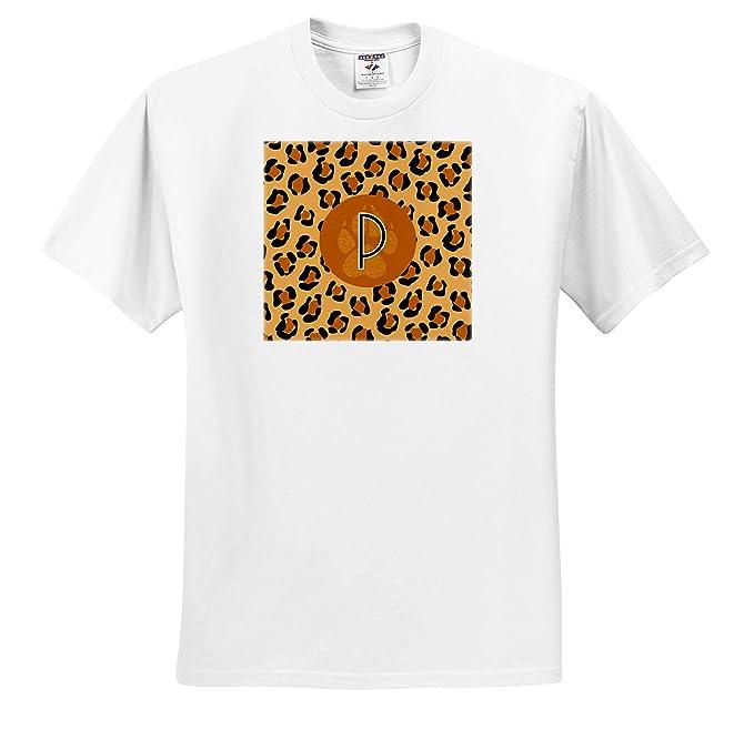 7e5014bd6a Russ Billington Monograms- Leopard Print- Letter P - Letter P- Leopard Print  Background