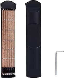 Guitarra de prácticas CAHAYA, Accesorio para practicar los acordes ...