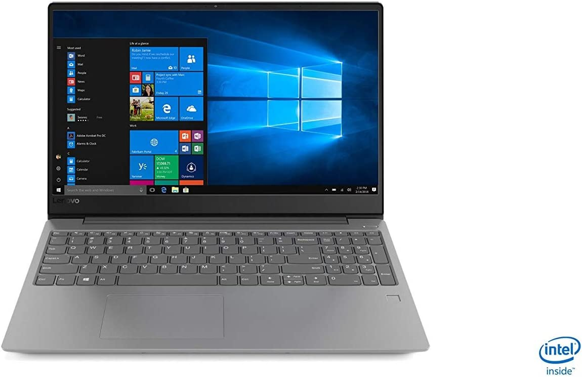 "2019 Lenovo ideapad 330s 15.6"" HD Laptop Computer, Intel Quad-core i5-8250U up to 3.40 GHz, 24GB (8GB + 16GB Intel Optane), 1TB HDD, HDMI, 802.11 AC WiFi, Bluetooth 4.1, Windows 10, Platinum Grey"